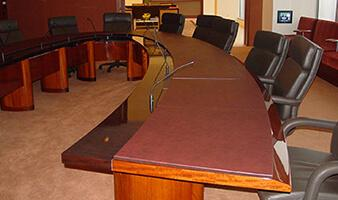 Custom Made High Quality Table Pads Bergers Table Pads - Conference room table mats