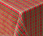 Celebration Red Tablecloth