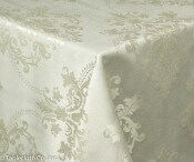 Antique White Tablecloth