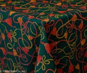 Christmas Tassels Tablecloth