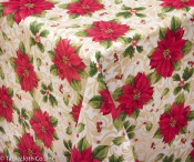 Poinsettia Tablecloth