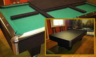 Elegant Pool Table Pads