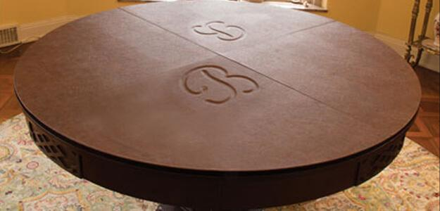 Lovely Monogrammed Table Pad